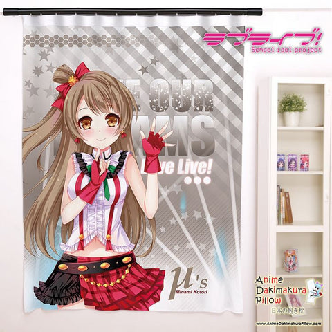New Minami Kotori - Love Live Anime Japanese Window Curtain Door Entrance Room Partition H0160 - Anime Dakimakura Pillow Shop | Fast, Free Shipping, Dakimakura Pillow & Cover shop, pillow For sale, Dakimakura Japan Store, Buy Custom Hugging Pillow Cover - 1