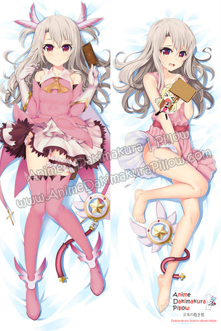 New Illyasviel von Einzbern -  Fatekaleid liner Prisma Illya Anime Dakimakura Japanese Hugging Body Pillow Cover ADP-16241B - Anime Dakimakura Pillow Shop | Fast, Free Shipping, Dakimakura Pillow & Cover shop, pillow For sale, Dakimakura Japan Store, Buy Custom Hugging Pillow Cover - 1