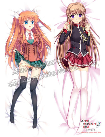 New Rewrite and Girl Knight Story Tous Les Jours Anime Dakimakura Japanese Hugging Body Pillow Cover ADP-16251 ADP-67085 - Anime Dakimakura Pillow Shop | Fast, Free Shipping, Dakimakura Pillow & Cover shop, pillow For sale, Dakimakura Japan Store, Buy Custom Hugging Pillow Cover - 1
