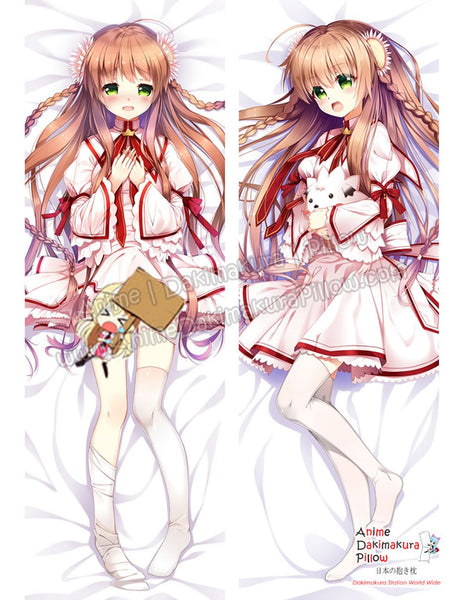 New Kotori Kanbe - Rewrite Anime Dakimakura Japanese Hugging Body Pillow Cover ADP-16252-B