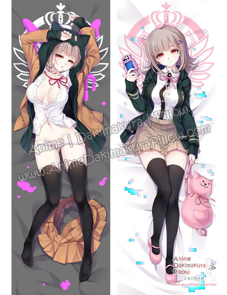New Chiaki Nanami - Danganronpa Anime Dakimakura Japanese Hugging Body Pillow Cover ADP-16265b - Anime Dakimakura Pillow Shop | Fast, Free Shipping, Dakimakura Pillow & Cover shop, pillow For sale, Dakimakura Japan Store, Buy Custom Hugging Pillow Cover - 1