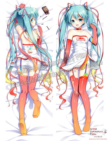 New Hatsune Miku - Vocaloid Anime Dakimakura Japanese Hugging Body Pillow Cover ADP-16283