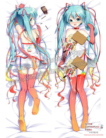 New Hatsune Miku - Vocaloid Anime Dakimakura Japanese Hugging Body Pillow Cover ADP-16283b