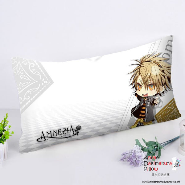 New Amnesia Anime Dakimakura Rectangle Pillow Cover RPC166 - Anime Dakimakura Pillow Shop | Fast, Free Shipping, Dakimakura Pillow & Cover shop, pillow For sale, Dakimakura Japan Store, Buy Custom Hugging Pillow Cover - 1