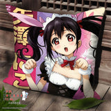 New Nico Yazawa - Love Live Anime Dakimakura Square Pillow Cover SPC166 - Anime Dakimakura Pillow Shop | Fast, Free Shipping, Dakimakura Pillow & Cover shop, pillow For sale, Dakimakura Japan Store, Buy Custom Hugging Pillow Cover - 1