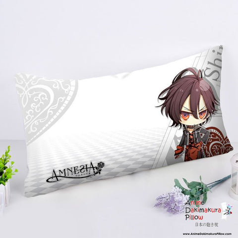 New Amnesia Anime Dakimakura Rectangle Pillow Cover RPC167 - Anime Dakimakura Pillow Shop | Fast, Free Shipping, Dakimakura Pillow & Cover shop, pillow For sale, Dakimakura Japan Store, Buy Custom Hugging Pillow Cover - 1
