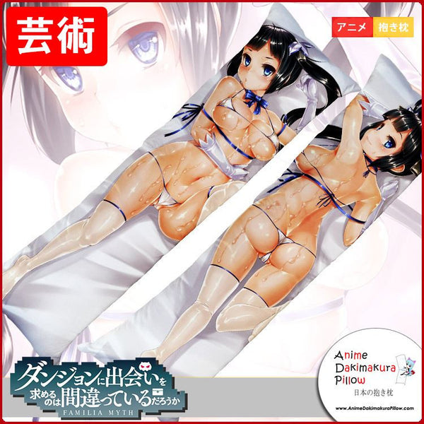 New Hestia - DanMachi Anime Dakimakura Japanese Hugging Body Pillow Cover GZFONG168