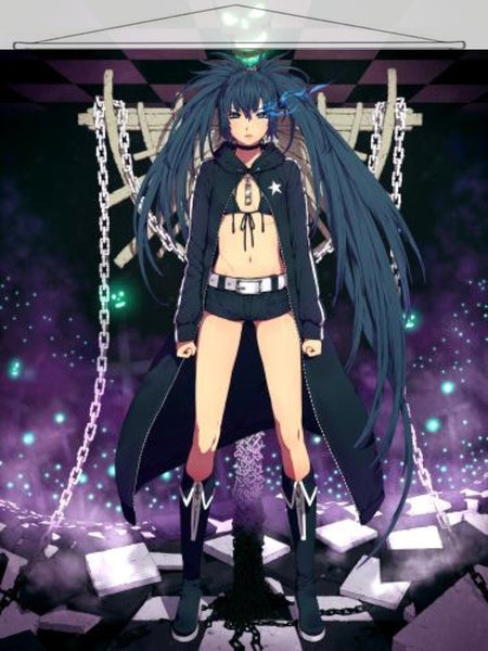 Black Rock Shooter Japanese Anime Wall Scroll Poster and Banner 16