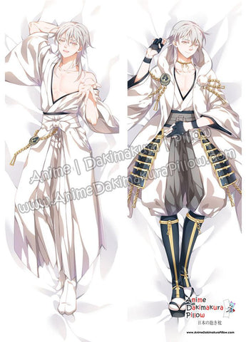 New Tsurumaru Kuninaga - Touken Ranbu Male Anime Dakimakura Japanese Hugging Body Pillow Cover ADP17049