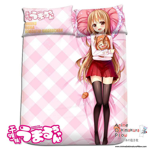 New Umaru Doma - Himouto Umaru-chan Japanese Anime Bed Blanket or Duvet Cover with Pillow Covers H0170 - Anime Dakimakura Pillow Shop | Fast, Free Shipping, Dakimakura Pillow & Cover shop, pillow For sale, Dakimakura Japan Store, Buy Custom Hugging Pillow Cover - 1