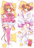 New Sakura Kinomoto - Cardcaptor Sakura Anime Dakimakura Japanese Hugging Body Pillow Cover ADP17131