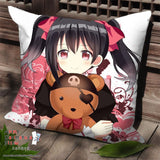 New Nico Yazawa - Love Live Anime Dakimakura Square Pillow Cover SPC171 - Anime Dakimakura Pillow Shop | Fast, Free Shipping, Dakimakura Pillow & Cover shop, pillow For sale, Dakimakura Japan Store, Buy Custom Hugging Pillow Cover - 1