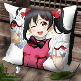 New Nico Yazawa - Love Live Anime Dakimakura Square Pillow Cover SPC172 - Anime Dakimakura Pillow Shop | Fast, Free Shipping, Dakimakura Pillow & Cover shop, pillow For sale, Dakimakura Japan Store, Buy Custom Hugging Pillow Cover - 1