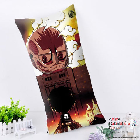 New Attack on Titan Anime Dakimakura Rectangle Pillow Cover RPC176 - Anime Dakimakura Pillow Shop | Fast, Free Shipping, Dakimakura Pillow & Cover shop, pillow For sale, Dakimakura Japan Store, Buy Custom Hugging Pillow Cover - 1