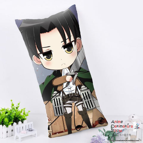 New Levi - Attack on Titan Anime Dakimakura Rectangle Pillow Cover RPC177 - Anime Dakimakura Pillow Shop | Fast, Free Shipping, Dakimakura Pillow & Cover shop, pillow For sale, Dakimakura Japan Store, Buy Custom Hugging Pillow Cover - 1