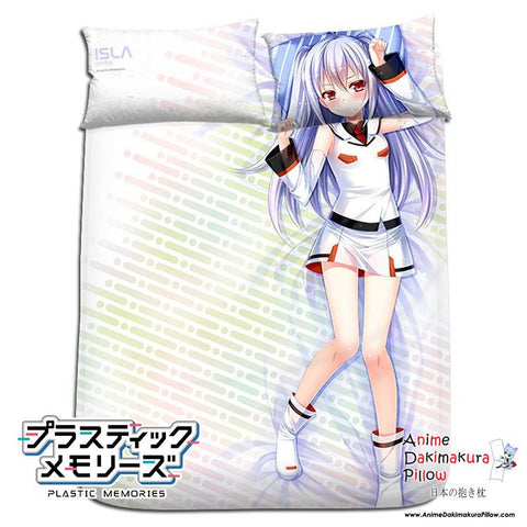 New Isla - Plastic Memories Japanese Anime Bed Blanket or Duvet Cover with Pillow Covers H0177 - Anime Dakimakura Pillow Shop | Fast, Free Shipping, Dakimakura Pillow & Cover shop, pillow For sale, Dakimakura Japan Store, Buy Custom Hugging Pillow Cover - 1