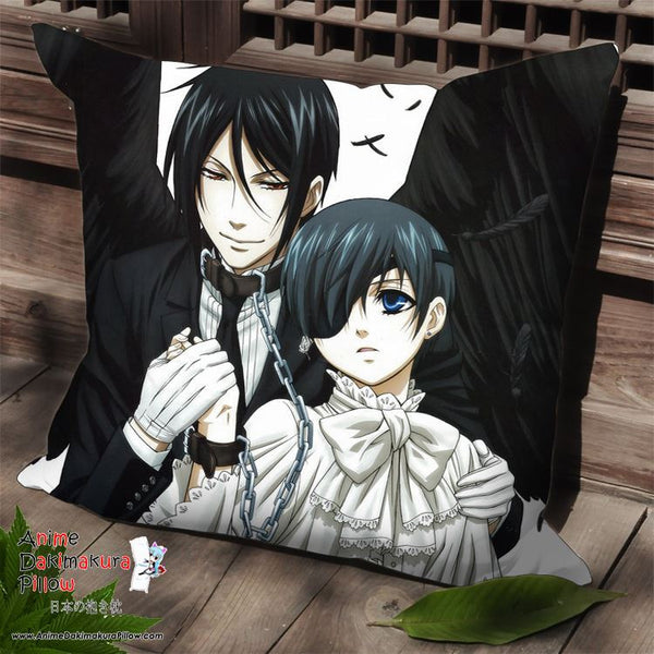 New Kuroshitsuji Anime Dakimakura Square Pillow Cover SPC177
