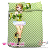 New Hanayo Koizumi - Love Live Japanese Anime Bed Blanket or Duvet Cover with Pillow Covers H0179 - Anime Dakimakura Pillow Shop | Fast, Free Shipping, Dakimakura Pillow & Cover shop, pillow For sale, Dakimakura Japan Store, Buy Custom Hugging Pillow Cover - 1