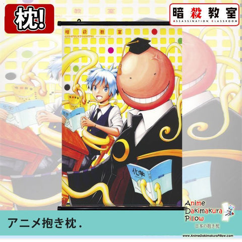New Assassination Classroom Japanese Anime Art Wall Scroll Poster Limited Edition High Quality GZFONG017 - Anime Dakimakura Pillow Shop | Fast, Free Shipping, Dakimakura Pillow & Cover shop, pillow For sale, Dakimakura Japan Store, Buy Custom Hugging Pillow Cover - 1