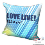 New Ayase Eli - Love Live Anime Dakimakura Square Pillow Cover H017 - Anime Dakimakura Pillow Shop | Fast, Free Shipping, Dakimakura Pillow & Cover shop, pillow For sale, Dakimakura Japan Store, Buy Custom Hugging Pillow Cover - 2