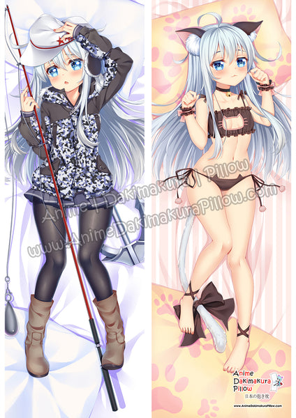 New Hibiki - Kantai Collection Anime Dakimakura Japanese Hugging Body Pillow Cover ADP18067-1