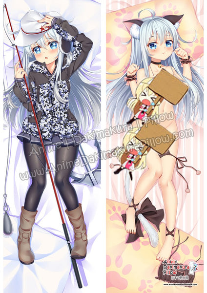 New-Hibiki-Kantai-Collection-Anime-Dakimakura-Japanese-Hugging-Body-Pillow-Cover-ADP18067-2
