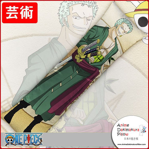 New Roronoa Zoro - One Piece Anime Dakimakura Japanese Hugging Body Pillow Cover GZFONG180 - Anime Dakimakura Pillow Shop | Fast, Free Shipping, Dakimakura Pillow & Cover shop, pillow For sale, Dakimakura Japan Store, Buy Custom Hugging Pillow Cover - 1