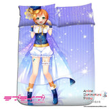 New Rin Hoshizora - Love Live Japanese Anime Bed Blanket or Duvet Cover with Pillow Covers H0180 - Anime Dakimakura Pillow Shop | Fast, Free Shipping, Dakimakura Pillow & Cover shop, pillow For sale, Dakimakura Japan Store, Buy Custom Hugging Pillow Cover - 1