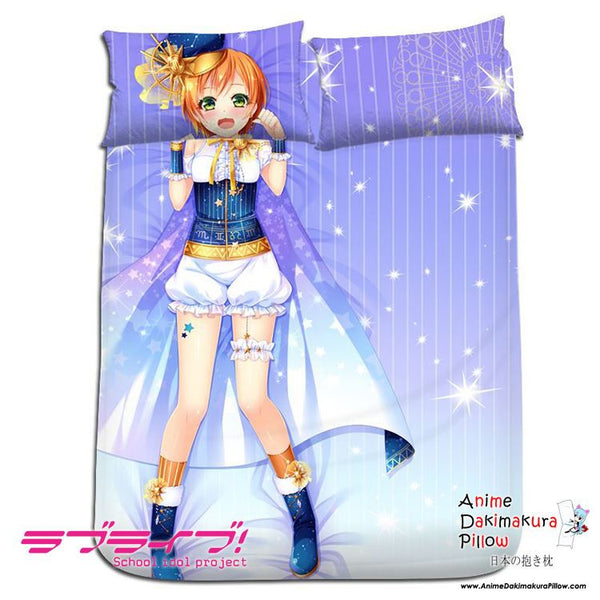 New Rin Hoshizora - Love Live Japanese Anime Bed Blanket or Duvet Cover with Pillow Covers H0180