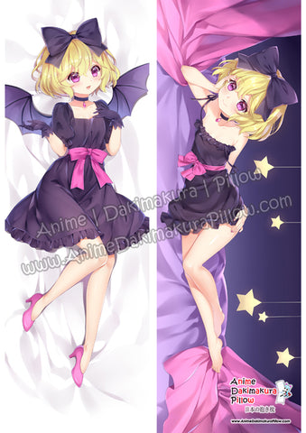 New Ellie - Ms Vampire who lives in my neighborhood Anime Dakimakura Japanese Hugging Body Pillow Cover ADP18137-1