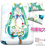 New Hatsune Miku - Vocaloid Japanese Anime Bed Blanket or Duvet Cover with Pillow Covers H0184 - Anime Dakimakura Pillow Shop | Fast, Free Shipping, Dakimakura Pillow & Cover shop, pillow For sale, Dakimakura Japan Store, Buy Custom Hugging Pillow Cover - 1