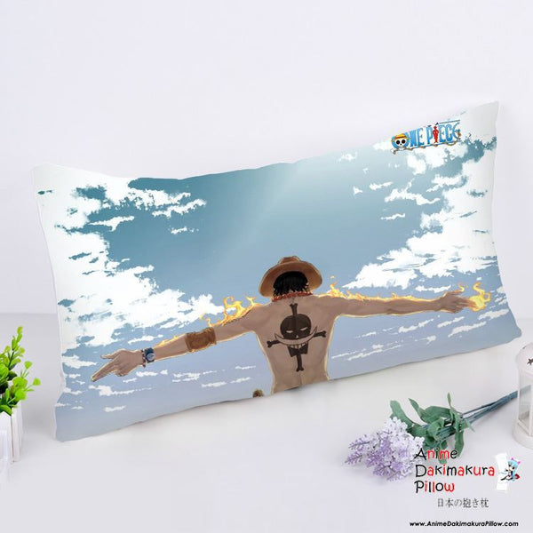 New One Piece Anime Dakimakura Rectangle Pillow Cover RPC185 - Anime Dakimakura Pillow Shop | Fast, Free Shipping, Dakimakura Pillow & Cover shop, pillow For sale, Dakimakura Japan Store, Buy Custom Hugging Pillow Cover - 1
