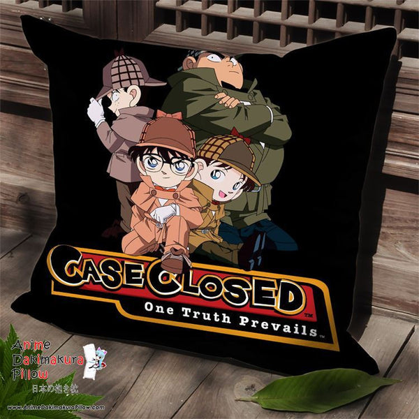 New Detective Conan Anime Dakimakura Square Pillow Cover SPC189