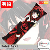 New Kurumi Tokisaki - Date a Live Anime Dakimakura Japanese Hugging Body Pillow Cover GZFONG194 - Anime Dakimakura Pillow Shop | Fast, Free Shipping, Dakimakura Pillow & Cover shop, pillow For sale, Dakimakura Japan Store, Buy Custom Hugging Pillow Cover - 1