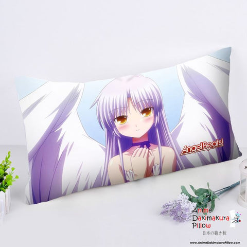 New Angel Beats Anime Dakimakura Rectangle Pillow Cover RPC198 - Anime Dakimakura Pillow Shop | Fast, Free Shipping, Dakimakura Pillow & Cover shop, pillow For sale, Dakimakura Japan Store, Buy Custom Hugging Pillow Cover - 1