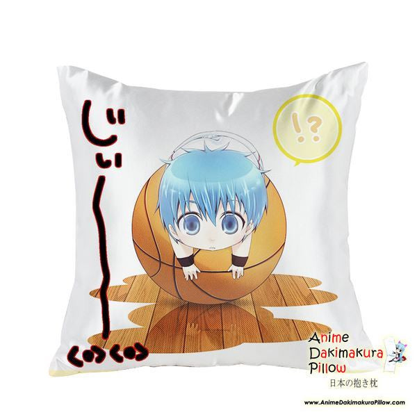 New Tetsuya Kuroko - Kuroko no Basuke Anime Dakimakura Square Pillow Cover GZFONG19 - Anime Dakimakura Pillow Shop | Fast, Free Shipping, Dakimakura Pillow & Cover shop, pillow For sale, Dakimakura Japan Store, Buy Custom Hugging Pillow Cover - 1