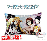 New Sword Art Online Anime Waifu Dakimakura Rectangle 40x70cm Pillow Cover GZFONG-19 - Anime Dakimakura Pillow Shop | Fast, Free Shipping, Dakimakura Pillow & Cover shop, pillow For sale, Dakimakura Japan Store, Buy Custom Hugging Pillow Cover - 1