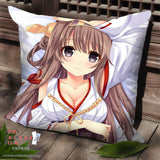 New Kantai Collection Anime Dakimakura Square Pillow Cover SPC19 - Anime Dakimakura Pillow Shop | Fast, Free Shipping, Dakimakura Pillow & Cover shop, pillow For sale, Dakimakura Japan Store, Buy Custom Hugging Pillow Cover - 1