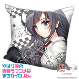 New Yukino Yukinoshita - My Teen Romantic Comedy Anime Dakimakura Square Pillow Cover H019 - Anime Dakimakura Pillow Shop | Fast, Free Shipping, Dakimakura Pillow & Cover shop, pillow For sale, Dakimakura Japan Store, Buy Custom Hugging Pillow Cover - 1