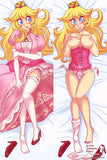 New Peach - Mario Brothers Anime Dakimakura Japanese Pillow Cover Custom Designer LadyPixelHeart ADC388 - Anime Dakimakura Pillow Shop | Fast, Free Shipping, Dakimakura Pillow & Cover shop, pillow For sale, Dakimakura Japan Store, Buy Custom Hugging Pillow Cover - 2