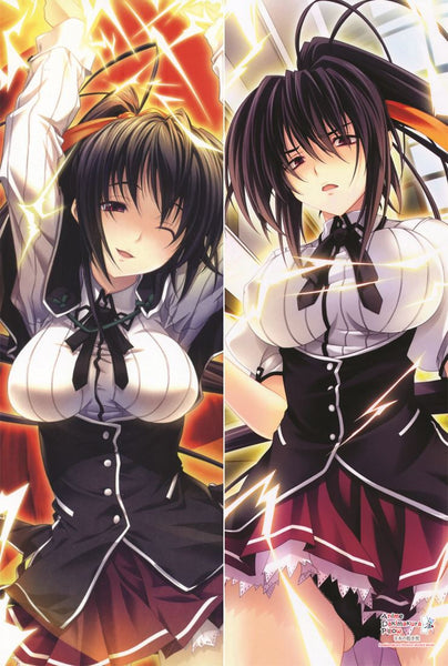 New Akeno Himejima High School DxD Anime Dakimakura Japanese Pillow Cover Custom Designer  大智 ADC111 - Anime Dakimakura Pillow Shop | Fast, Free Shipping, Dakimakura Pillow & Cover shop, pillow For sale, Dakimakura Japan Store, Buy Custom Hugging Pillow Cover - 1