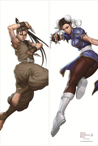 New Chun Li and Ibuki - Street Fighter Anime Dakimakura Japanese Pillow Cover SF1 - Anime Dakimakura Pillow Shop | Fast, Free Shipping, Dakimakura Pillow & Cover shop, pillow For sale, Dakimakura Japan Store, Buy Custom Hugging Pillow Cover - 1