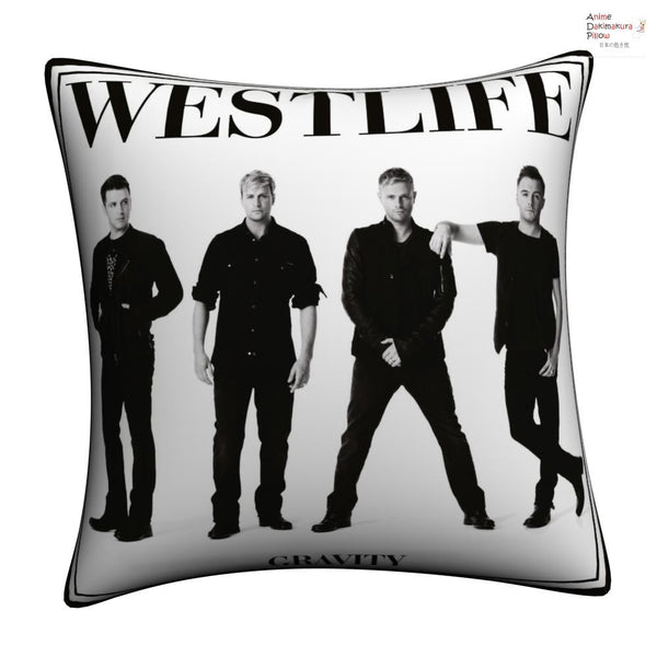 New Westlife Throw Pillow cushion pillowcases cover1 - Anime Dakimakura Pillow Shop | Fast, Free Shipping, Dakimakura Pillow & Cover shop, pillow For sale, Dakimakura Japan Store, Buy Custom Hugging Pillow Cover - 1
