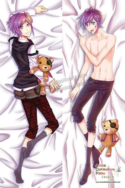 New Kanato Sakamaki - Diabolik Lovers Male Anime Dakimakura Japanese Pillow Cover Custom Designer Mireielle ADC646