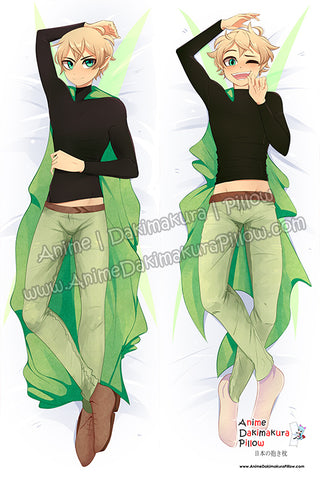 New SugarberryArt Anime Dakimakura Japanese Pillow Cover Custom Designer Ness ADC805