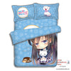 New Yukino Yukinoshita - My Teen Romantic Comedy Japanese Anime Bed Blanket or Duvet Cover with Pillow Covers ADP-CP151212 - Anime Dakimakura Pillow Shop | Fast, Free Shipping, Dakimakura Pillow & Cover shop, pillow For sale, Dakimakura Japan Store, Buy Custom Hugging Pillow Cover - 4