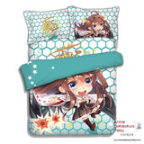 New Kongou - Kantai Collection Japanese Anime Bed Blanket or Duvet Cover with Pillow Covers ADP-CP151231 - Anime Dakimakura Pillow Shop | Fast, Free Shipping, Dakimakura Pillow & Cover shop, pillow For sale, Dakimakura Japan Store, Buy Custom Hugging Pillow Cover - 4