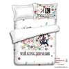 New K Project Japanese Anime Bed Blanket or Duvet Cover with Pillow Covers ADP-CP151210 - Anime Dakimakura Pillow Shop | Fast, Free Shipping, Dakimakura Pillow & Cover shop, pillow For sale, Dakimakura Japan Store, Buy Custom Hugging Pillow Cover - 2