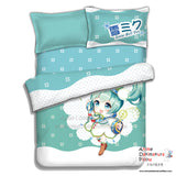 New Miku Hatsune - Vocaloid Japanese Anime Bed Blanket or Duvet Cover with Pillow Covers ADP-CP151222 - Anime Dakimakura Pillow Shop | Fast, Free Shipping, Dakimakura Pillow & Cover shop, pillow For sale, Dakimakura Japan Store, Buy Custom Hugging Pillow Cover - 4