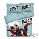 New Ken Kaneki - Tokyo Ghoul Japanese Anime Bed Blanket or Duvet Cover with Pillow Covers ADP-CP151201 - Anime Dakimakura Pillow Shop | Fast, Free Shipping, Dakimakura Pillow & Cover shop, pillow For sale, Dakimakura Japan Store, Buy Custom Hugging Pillow Cover - 4